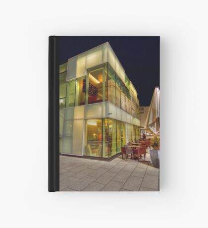 Glass Cafe Hardcover Journal