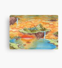 The Floating Islands Canvas Print