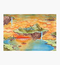 The Floating Islands Photographic Print
