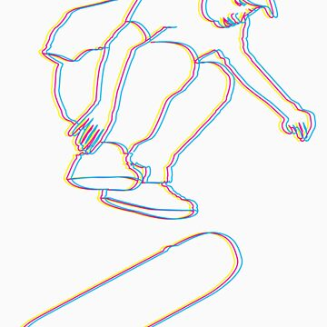 CMYK Skater by designbyzach