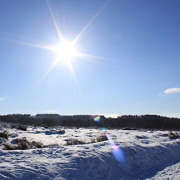 Sunny snow day in the Peak District by derbyshireduck