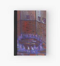 Prisoners exercising Hardcover Journal
