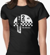 2 Tone Records Shirt - Das Specials-Label Tailliertes T-Shirt