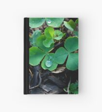 One Leaf Short Of Luck Hardcover Journal