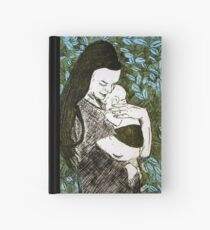 Mother and Son - Etching Hardcover Journal