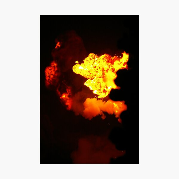 Is That Lava In The Sky? Photographic Print