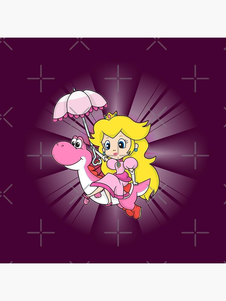 Yoshi und Chibi Pfirsich von GeekyAngel