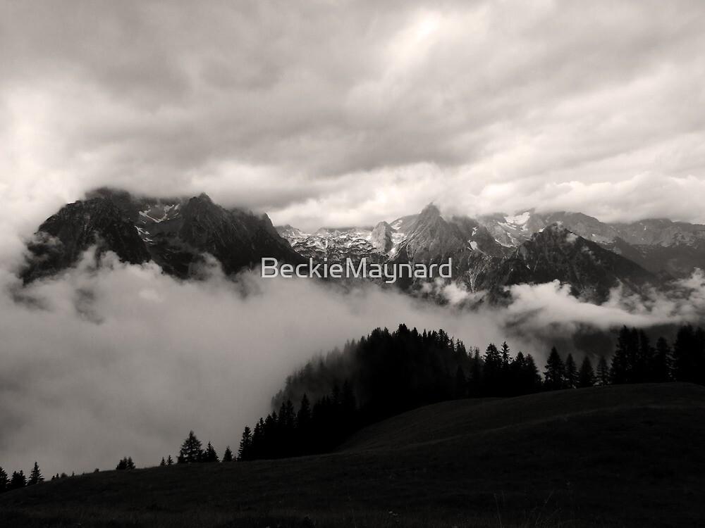 austrian mountains 5 by BeckieMaynard