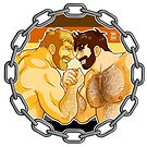 ADAM AND MIKE LIKE ARM WRESTLING - BEAR PRIDE by bobobear