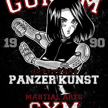 GUNNM GYM by ursulalopez