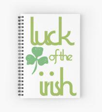 Luck of the Irish Spiral Notebook