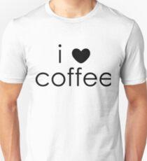 i love coffee Slim Fit T-Shirt