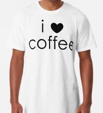 i love coffee Long T-Shirt