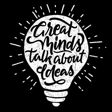 Great Minds Talk About Ideas von sebastianst