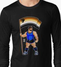 ADAM LIKES BEAR PRIDE FLAG Long Sleeve T-Shirt