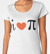 Pi Day Premium Scoop T-Shirt