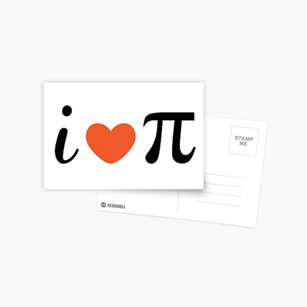 Pi Day Postcard