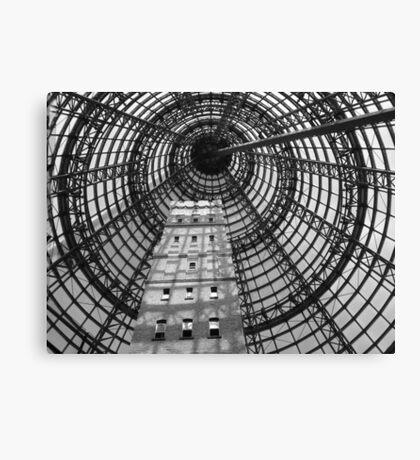 Coops Shot Tower, Melbourne CBD, Australia. Canvas Print