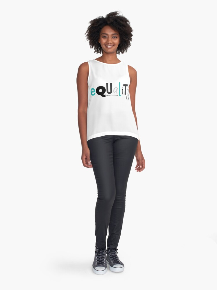 Alternate view of Equality Sleeveless Top