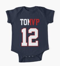 Limited Edition Tom Brady Super Bowl MVP, Tb12, New England Patriots Shirts, Mugs & Hoodies Short Sleeve Baby One-Piece