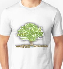 How He Loves Tree Design T-Shirt