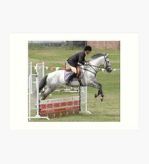 Moss Vale District Showjumping 11 Art Print