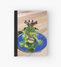 Cuaderno de tapa dura frog prince
