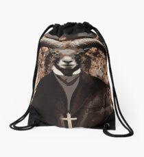 Baphomet Drawstring Bag