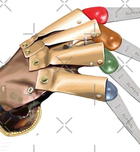 Freddy's Safety Scissors Glove by Jody  Parmann