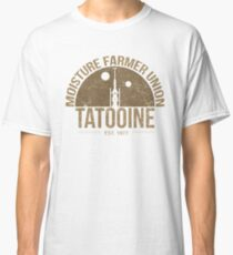 Moisture Farmer Union (brown) Classic T-Shirt