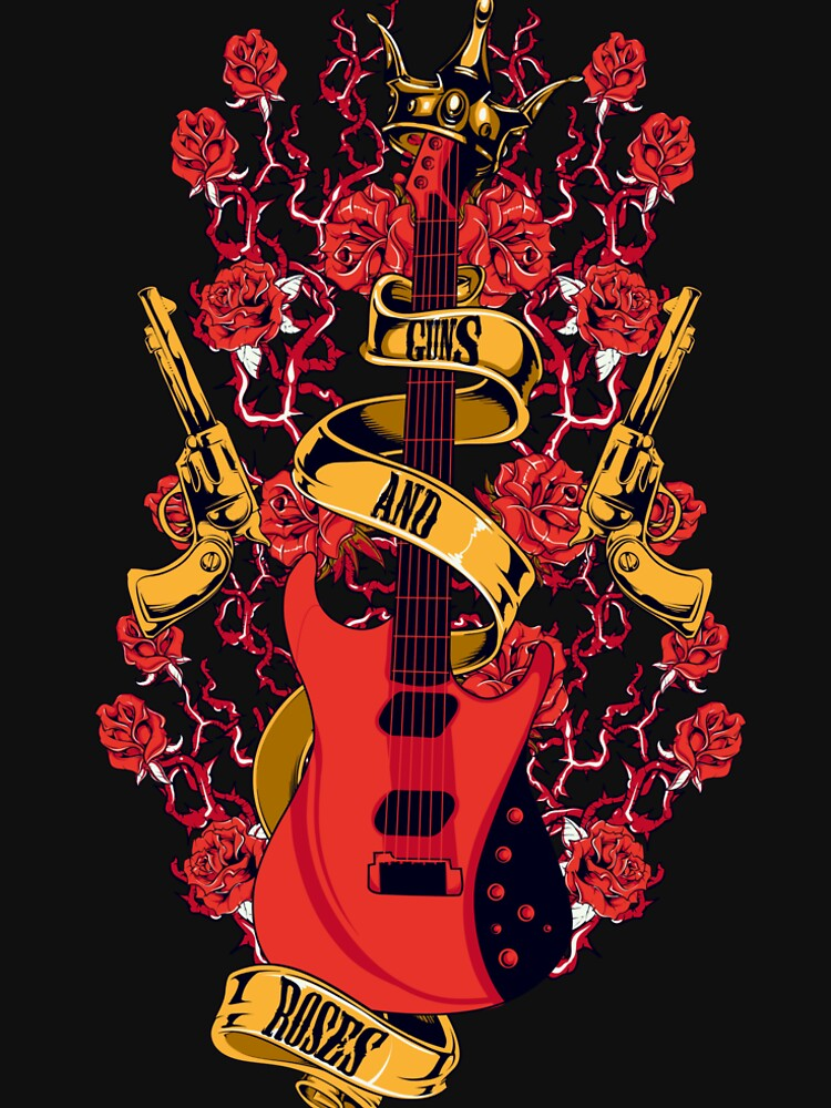 Guns and roses by designhp
