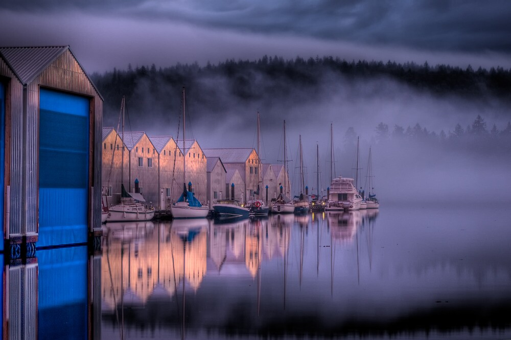 Marina Morning Sunrise by Rick Ruppenthal