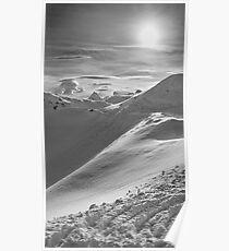 Snowy Peak Poster