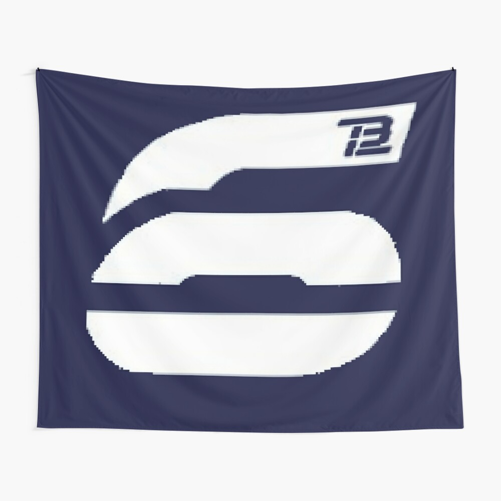 Tom Brady 6 TB12 Logo Wall Tapestry