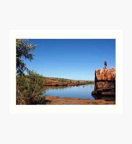 Sir John Gorge, Kimberley Region, Western Australia Art Print
