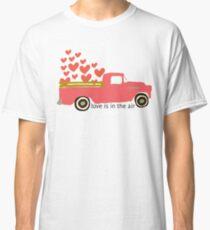 Valentine's Truck Classic T-Shirt
