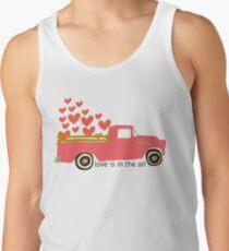 Valentine's Truck Tank Top