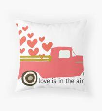 Valentine's Truck Floor Pillow