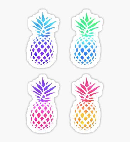 Pineapple Pack Sticker