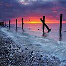 Sundown, West Runton by Simon Bowen