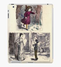 The Little Folks Painting book by George Weatherly and Kate Greenaway 0161 iPad Case/Skin