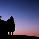 Vitaleta Church Sunset by Marco Vegni