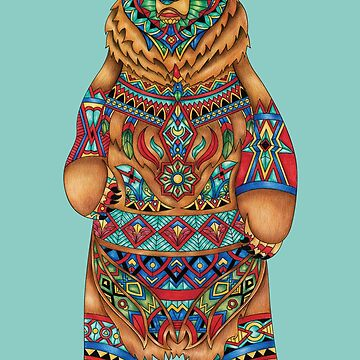 Bear - Adult Colouring | COLOURING - ARTWORKS by mcaussieb
