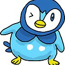 Ugly Piplup Sticker Pokemon by lizzyisanonion
