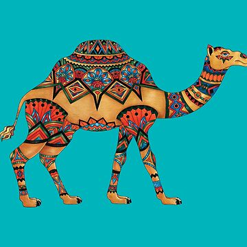 Camel - Adult Colouring | COLOURING - ARTWORKS by mcaussieb