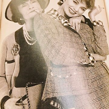 Coco Chanel and Suzy Parker by Jenniferkate72
