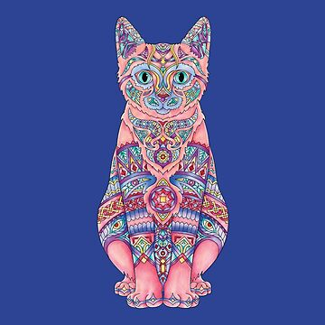 Kitty Cat - Adult Colouring | COLOURING - ARTWORKS by mcaussieb