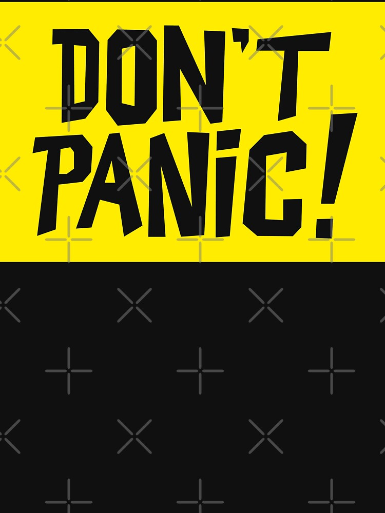 NDVH Don't Panic - Yellow 2 by nikhorne