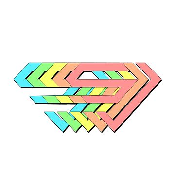 Super junior | Logo del arcoiris de cyberlatte