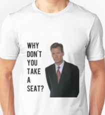 Chris Hansen Why don't you take a seat T-Shirt